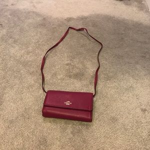 Coach Handbags - Coach cross body purse.  NWOT.  Perfect condition