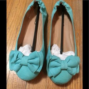 Breckelles Shoes - Breckelle's Mint Green Flats