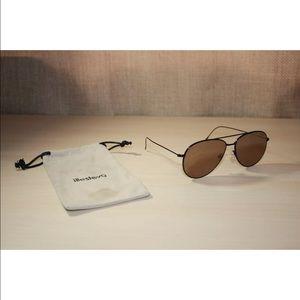 Illesteva Accessories - Illesteva Linate Oversized Aviator Sunglasses