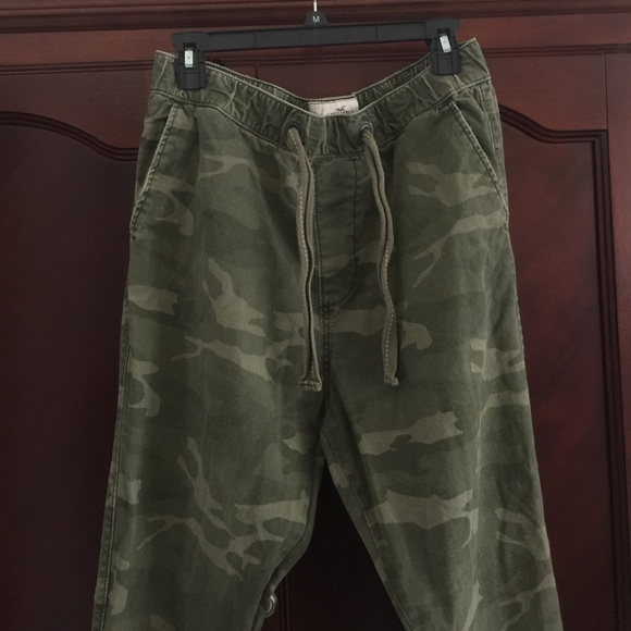 67% off Hollister Other - Mens Joggers by Hollister Camo ...