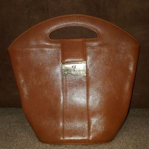 Charles Jourdan Handbags - Charles Jourdan Leather Bucket Purse
