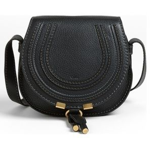 Chloe Handbags - Chloe 'Mini Marcie' Leather Crossbody Bag