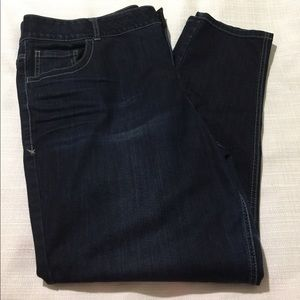 Lane Bryant Denim - Lane Bryant Skinny Jeans 24 Reg Dark Wash