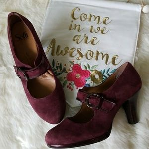 Sofft Shoes - ⚠️Low Ball Sale⚠️ Burgundy Sofft Maryjanes