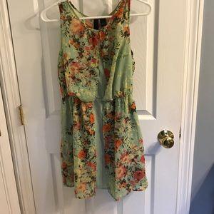 Beautiful flowered print dress