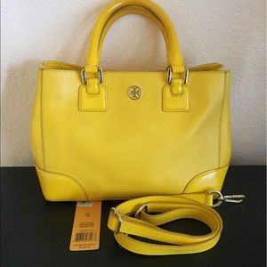 Tory Burch Robinson Mini Square Tote