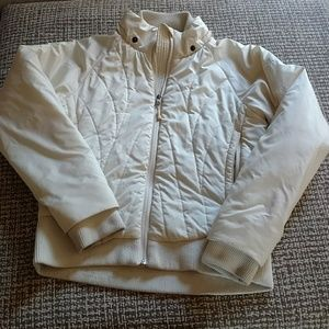Marmot Jackets & Blazers - Marmot cream winter jacket- medium