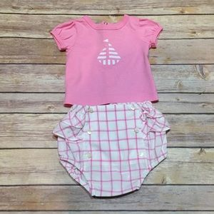 Jacadi Other - Jacadi Paris Sailboat Theme Outfit Size 3 Months