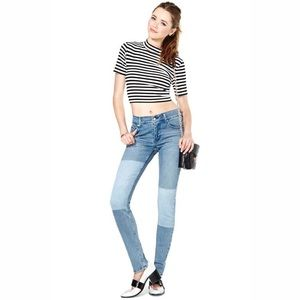 Cheap Monday Denim - Cheap Monday Tight Patch Jeans