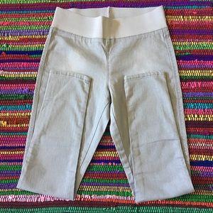 Zara Jeggings/Skinny Jeans Elastic Waist Sz XL