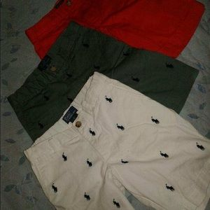 3 Boys Polo Shorts