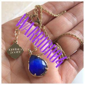Kendra Scott Jewelry - Kendra Scott Kira Blue Necklace (includes KS bag)