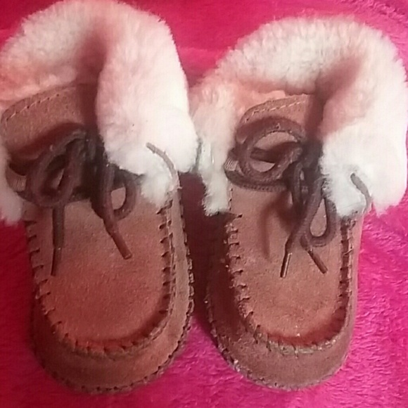 98302905c58 Authentic baby ugg moccasins