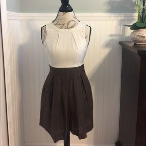 Rhapsody Dresses & Skirts - Rhapsody Fit and flare two tone dress