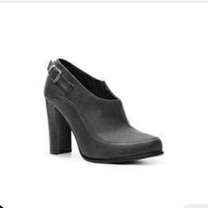 2 Lips Too Shoes - Charcoal Gray Booties!