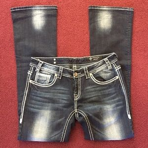 Rock & Roll Cowgirl Denim - NWOT Dark Wash Rock and Roll Cowgirl Jeans
