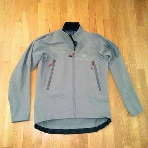 Arc'teryx Other - Arcteryx grey Soft shell jacket sz M