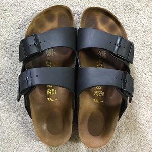 Birkenstock Shoes - Black Birkenstock Arizona birko-flor 39/8 sandals