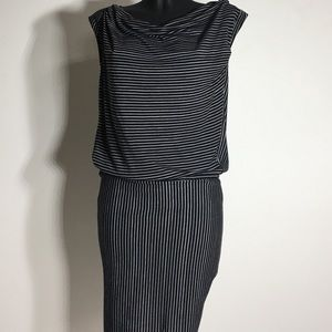 Derek Lam Dresses & Skirts - Derek Lam Black White Stripe Dress - M