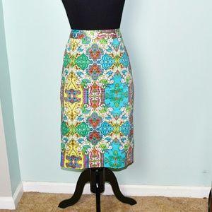 Dresses & Skirts - Super Cute Bright Color Print Skirt