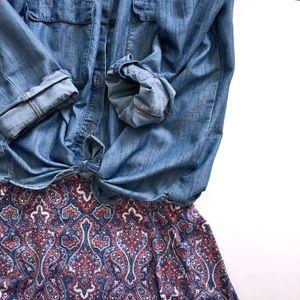 NWOT Azure LuLaRoe Skirt