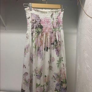 Equipe Dresses & Skirts - STRAPLESS BABYDOLL SUNDRESS OR BEACH COVERUP👗🕶