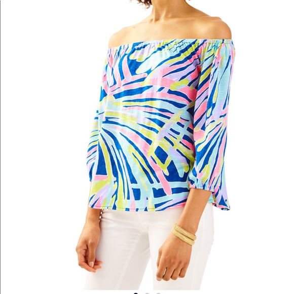 e11f25617324d Lilly Pulitzer Tops - Lilly Pulitzer Enna Top
