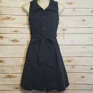 Poetry Dresses & Skirts - Poetry Clothing navy utility dress/corset back