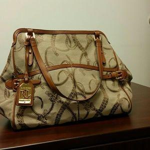 Ralph Lauren Handbags - Ralph Lauren Peyton Carry All