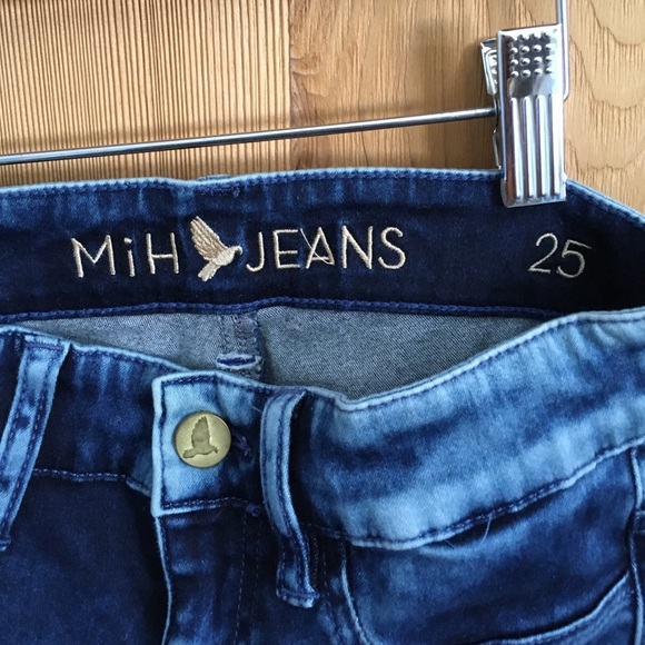 70 off mih jeans denim mih jeans bonn high rise skinny from katy 39 s closet on poshmark. Black Bedroom Furniture Sets. Home Design Ideas
