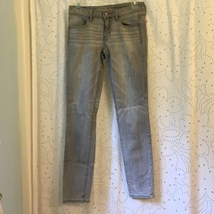 American Eagle Outfitters Denim - American Eagle Gray Skinny Jeans