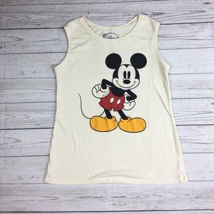 Disney Tops - Mickey Mouse Disney Vintage Tank Top