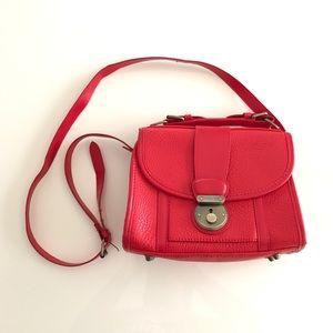 Cooperative Handbags - Red Cooperative Crossbody Purse