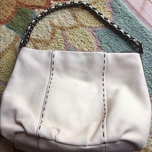 👛Calvin Klein all-leather handbag!