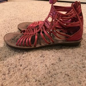 Kickers Shoes - Pink sandals