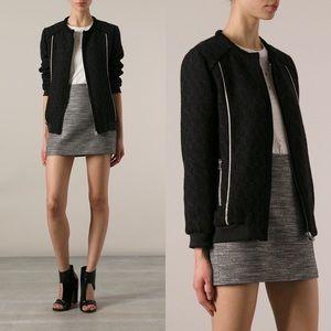 IRO Jackets & Blazers - Iro Black Kayden Bomber Jacket size FR 38 US 6-8