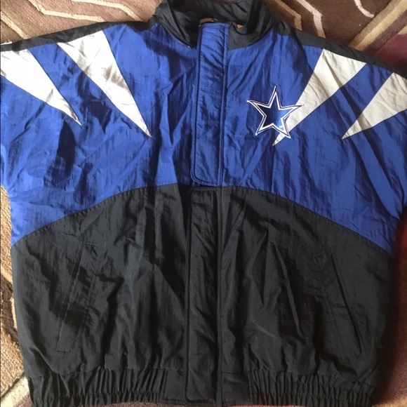 VINTAGE 90 s PRO LINE NFL DALLAS COWBOYS JACKET XL 1d3cb34b3