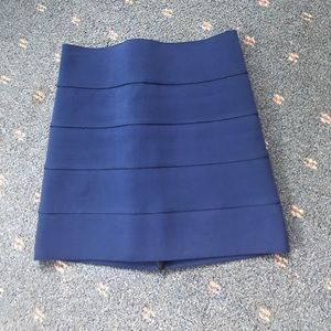 Pleasure Doing Business Dresses & Skirts - Blue bandage skirt