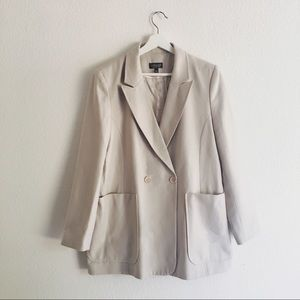Topshop Jackets & Blazers - TOPSHOP   Basic Double Breasted Blazer, 10