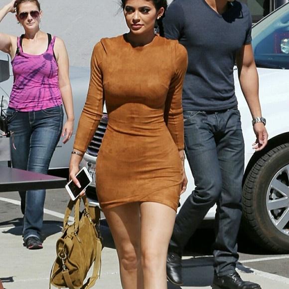 66% Off Fashion Nova Dresses U0026 Skirts - KYLIE JENNER SUEDE FASHION NOVA DRESS NWOT From Laurenu0026#39;s ...