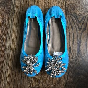 Ollio Shoes - New blue flats!