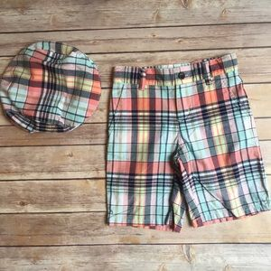 Janie and Jack Other - NWT Janie and Jack Shorts and hat