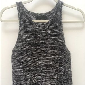 Nordstrom Sanctuary Heathered knit top Sz Small