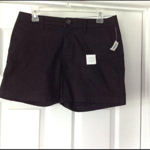 Old Navy Pants - Old navy shorts NWT size 4 black khaki pockets