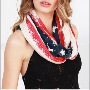 WILA Accessories - July 4th sale US 🇺🇸 Infinity Scarf Red Blue Wrap