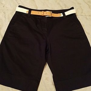 Apostrophe Pants - REALLY NICE BLACK SHORTS (higher rise)