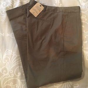 Brooks Brothers Pants - Brooks Brothers Pleated Olive Green Trousers Khaki