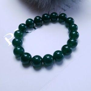 Jewelry - Green Crystal Ball Bracelet