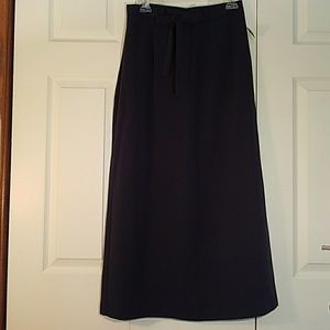 NWT - MAXI SKIRT WITH SIDE SLIT