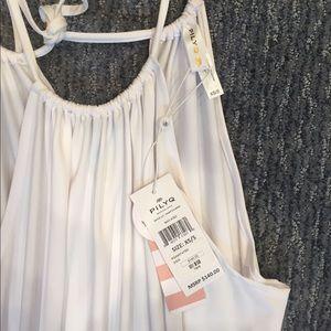 Pilyq Dresses & Skirts - BNWT PilyQ water lily Hampton Dress / cover up